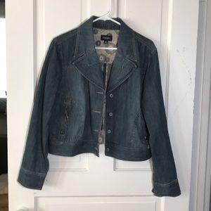 XL Jeans Jacket